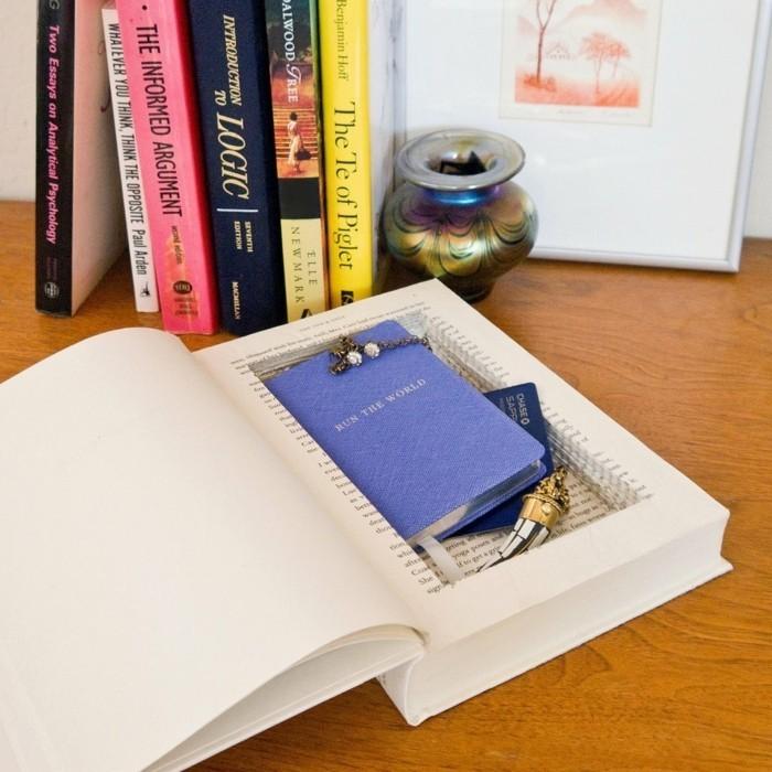 caja bonita para guardar cosas, caja secreta en forma de libro, ideas de regalos especiales y originales en imagines