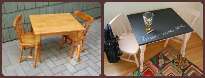muebles viejos restaurados antes y después, como pintar un mueble de melamina paso a paso