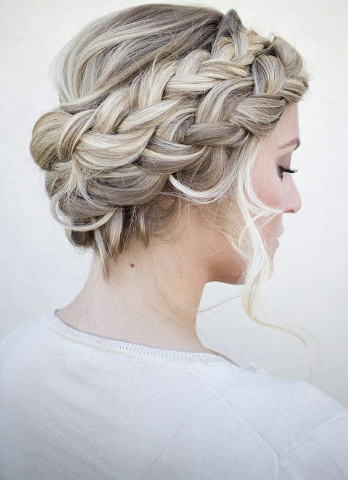 peinados para pelo largo con trenzas, propuestas originales de peinados trenzados en fotos