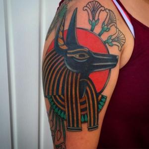 80 geniales ideas de tatuajes egipcios para hombres y mujeres
