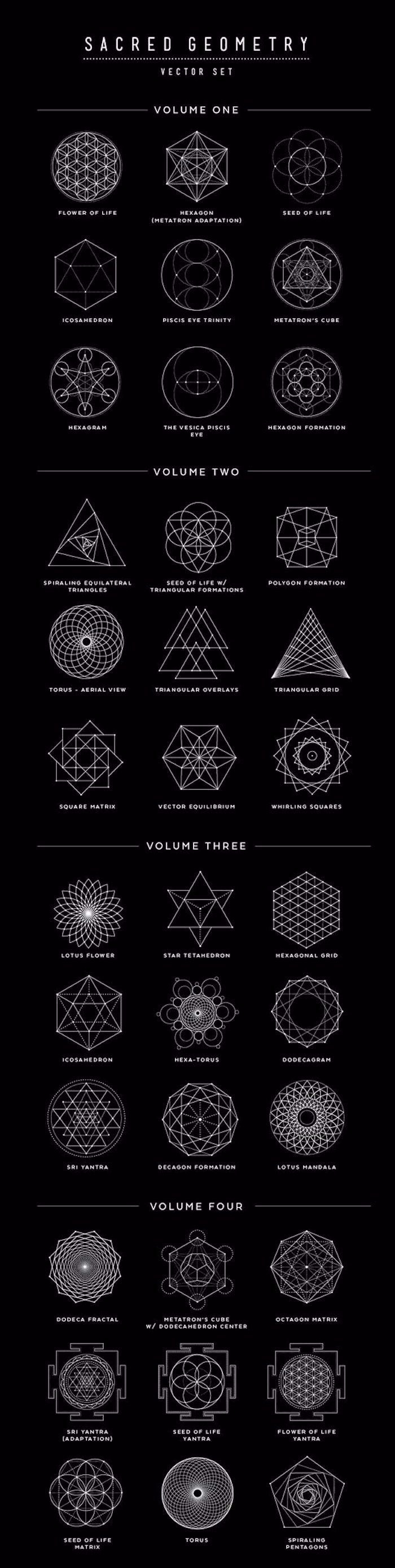la simbología de los tatuajes geométricos, qué significa cada figura geométrica, diseños de tatuajes con fuerte significado