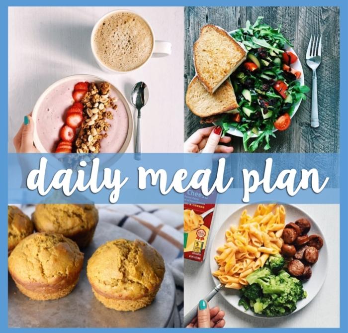 bonitas ideas de desayunos saludables para llevar una dieta equilibrada, desayunos, almuerzos y cenas sanas y fáciles de hacer