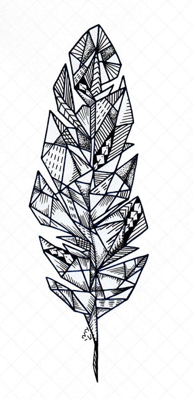 cuáles son los mejores diseños de tatuajes geométricos, diseños de tatuajes de plumas, tattoos originales y modernos