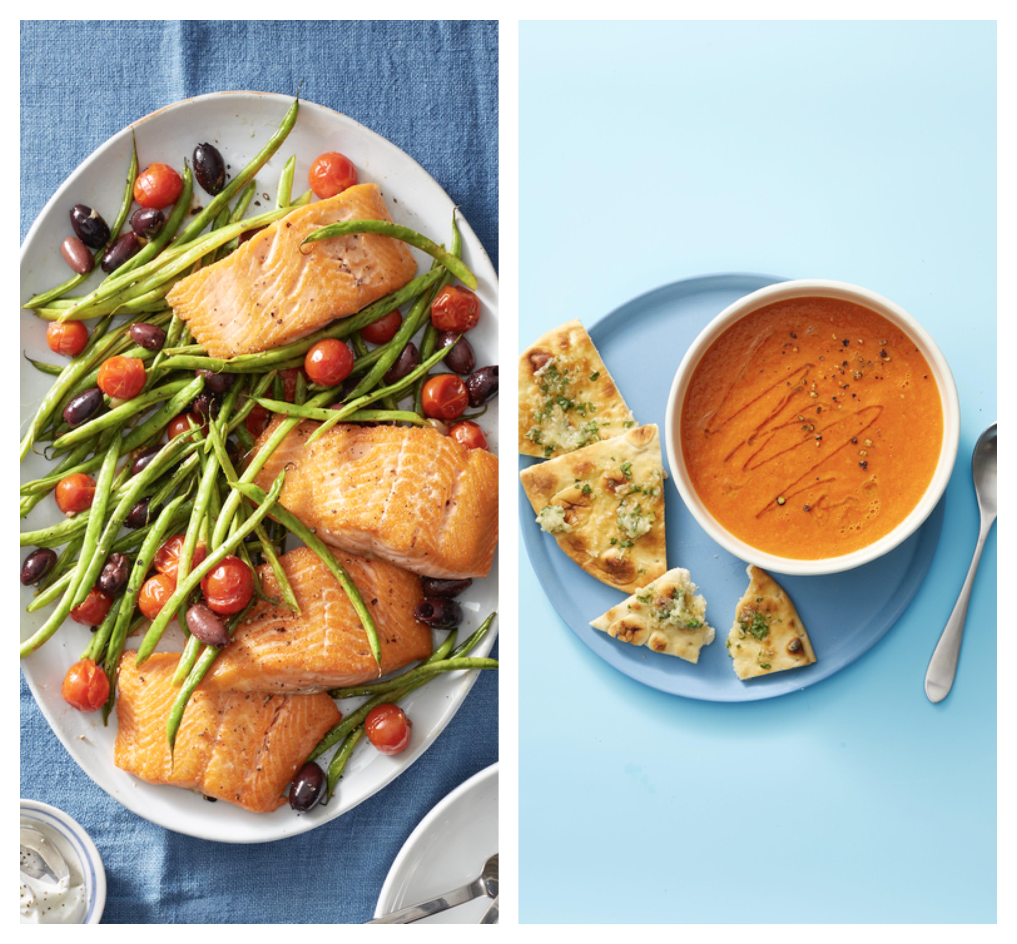 alucinantes ideas de recetas bajas en calorias para toda la familia, comidas bajas en calorías para cenar en verano