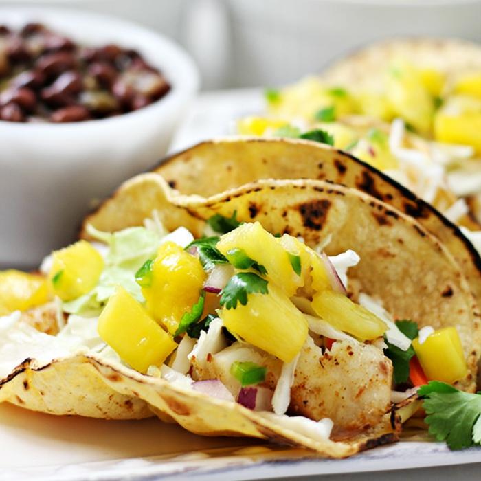 tacos saludables para hacer en casa, ideas de platos para un menu semanal para adelgazar, recetas fáciles y ricas para hacer en casa
