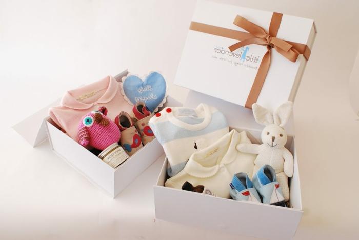 cajas para regalos personalizados bebé, pequeños regalitos para bebé niño y bebé niña, regalos originales para recién nacidos