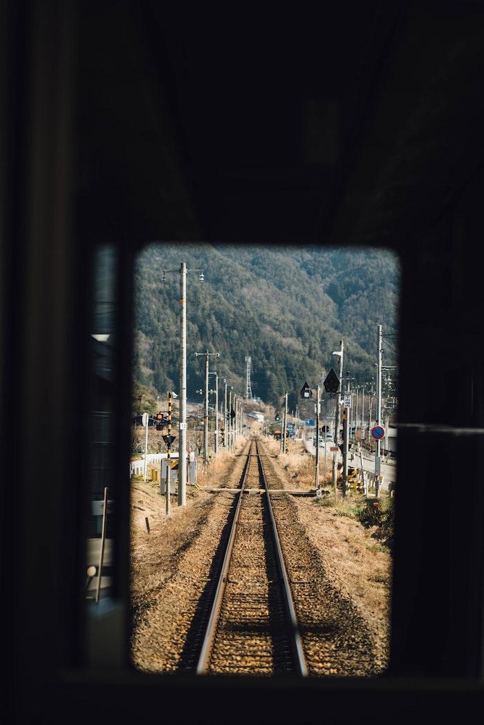 fondos de pantalla tumblr para las personas viajeras, bonitas imagines para los amantes de los viajes, viaje con tren foto
