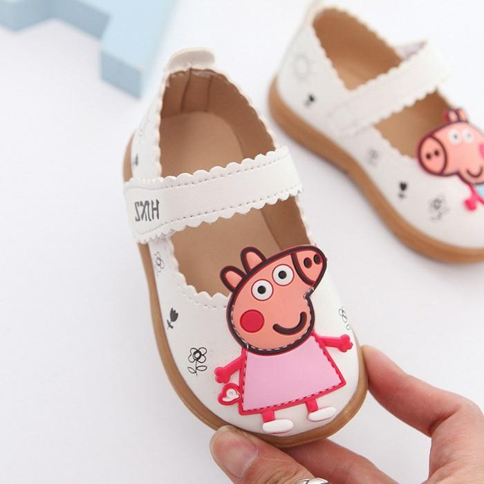 mini zapatos con dibujos animados, ideas de regalos niña, regalos personalizados para bebes recien nacidos originales