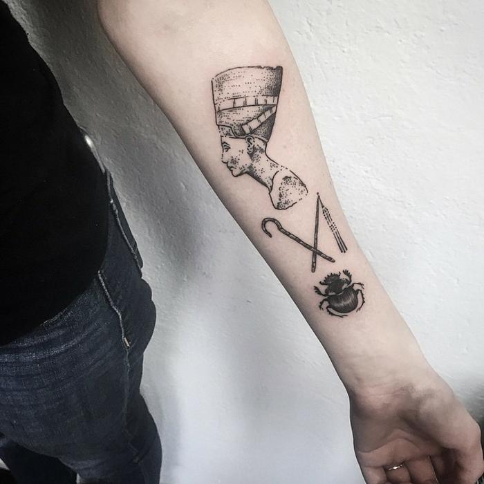 símbolos egipcios para tatuajes en el antebrazo, los mejores diseños de tatuajes para hombres y mujeres, pequeños tatuajes en el antebrazo