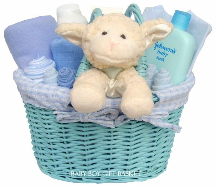 kit de bebé niño para el baño, regalos personalizados para baby shower, canastillas para bebes color azul, set de baño