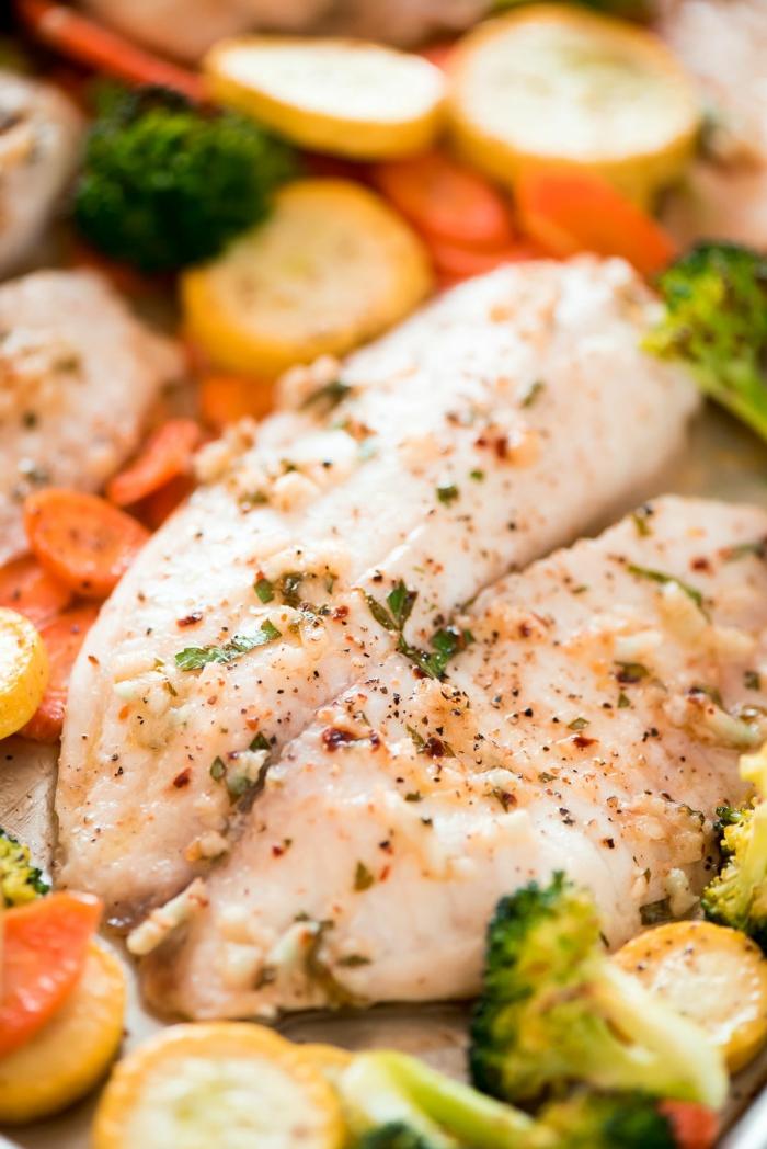 pescado al horno con especias y verduras, las mejores recetas con pescado para perder peso, más de 88 fotos con recetas