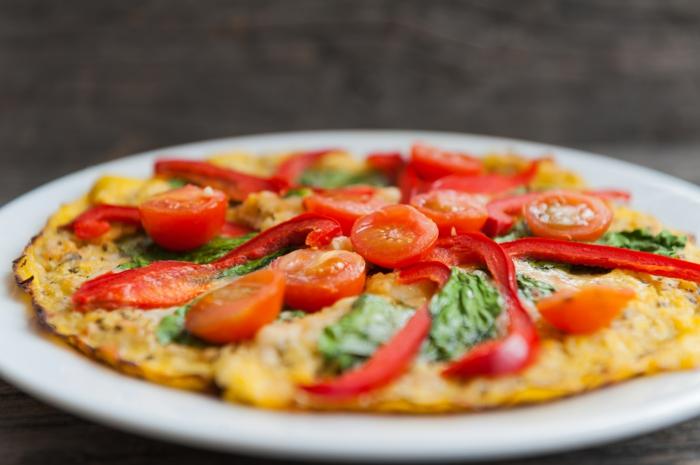pizza casera sin harina, ideas de comidas vegetarianas para adelgazar, platos para perder peso, más de 80 ideas de cenas ricas