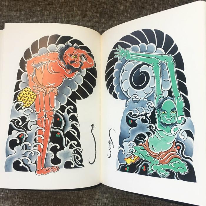 originales propuestas de tatuajes en estilo old school con elementos japoneses, tattoo japones dibujo, más de 100 imagines