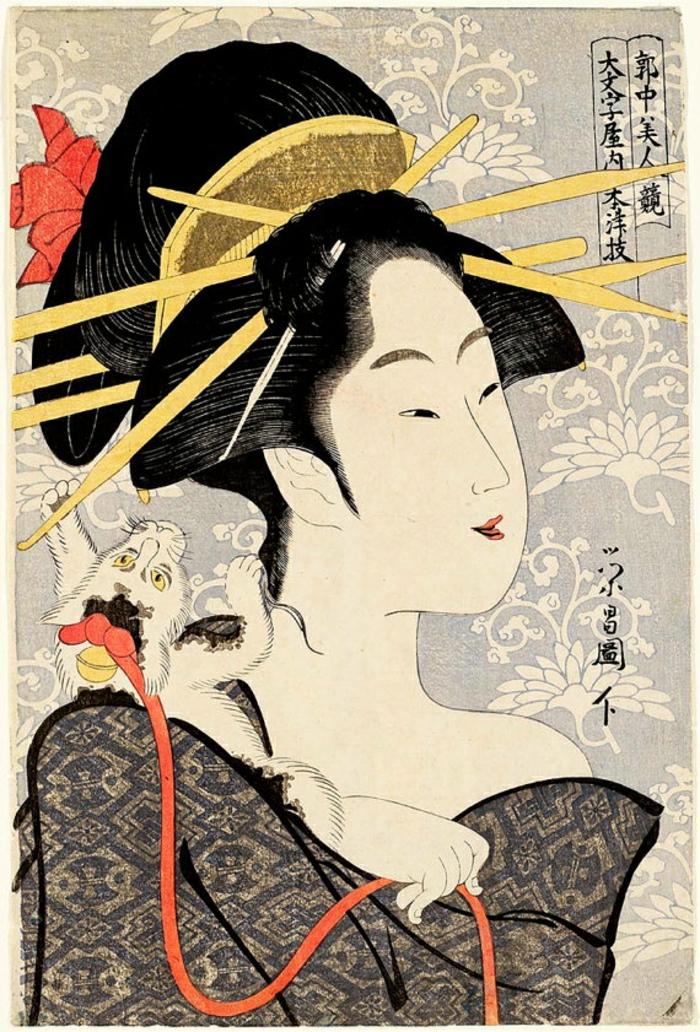 alucinantes ideas de tatuajes de geishas, diseños de tatuajes unicos, tattoos originales con motivos japoneses, diseños de tatuajes mujer