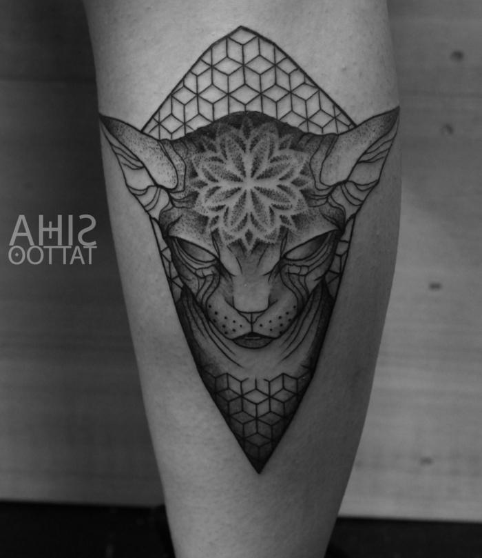 tatuajes en la pantorrilla con un fuerte significado, más de 70 fotos de tatuajes simbolicos, diseños de tattoos para hombres y mujeres
