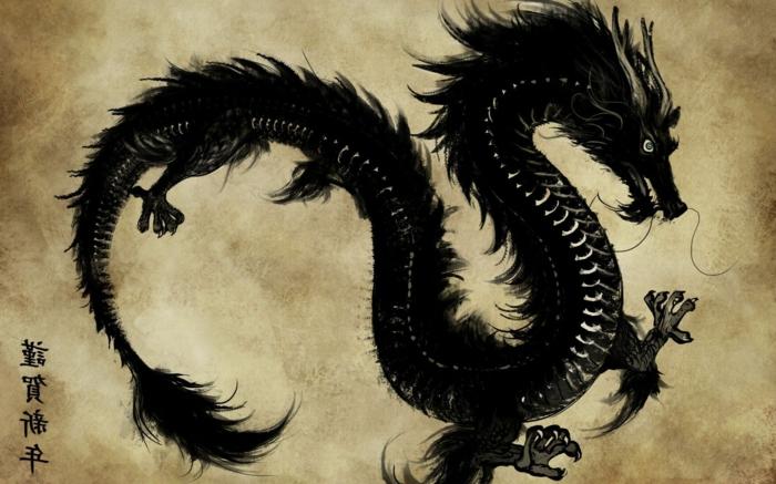 tatuajes de dragones originales, diseños de tatuajes con criaturas míticas, originales diseños de tattoos japoneses