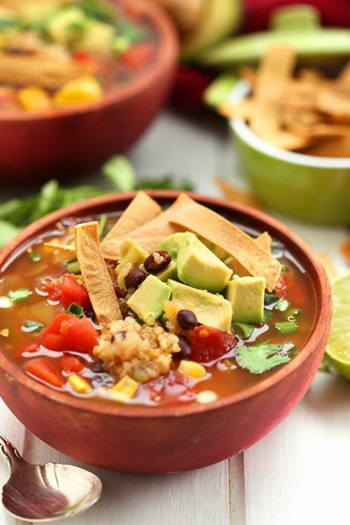 sopas de verduras para adelgazar, originales recetas de sopas asiáticas, comidas bajas en calorias en imagines, recetas paso a paso