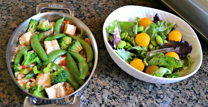 las mejores ideas de platos saludables para perder peso, ejemplos de alimentos para adelgazar, verduras y mariscos