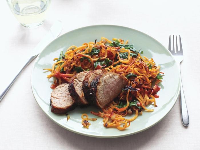 comidas con carne para una dieta balanceada, cenas ligeras y rapidas de preparar, fotos de cenas ricas y rápidas