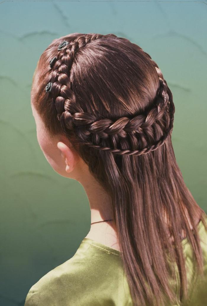 las propuestas más bonitas de semirecogidos trenzados y tutoriales paso a paso, como hacer peinados medievales