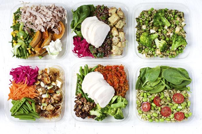 seis platos variados para conseguir un menu saludable, recetas para adelgazar saludables, platos para almorzar nutritivos y sanos