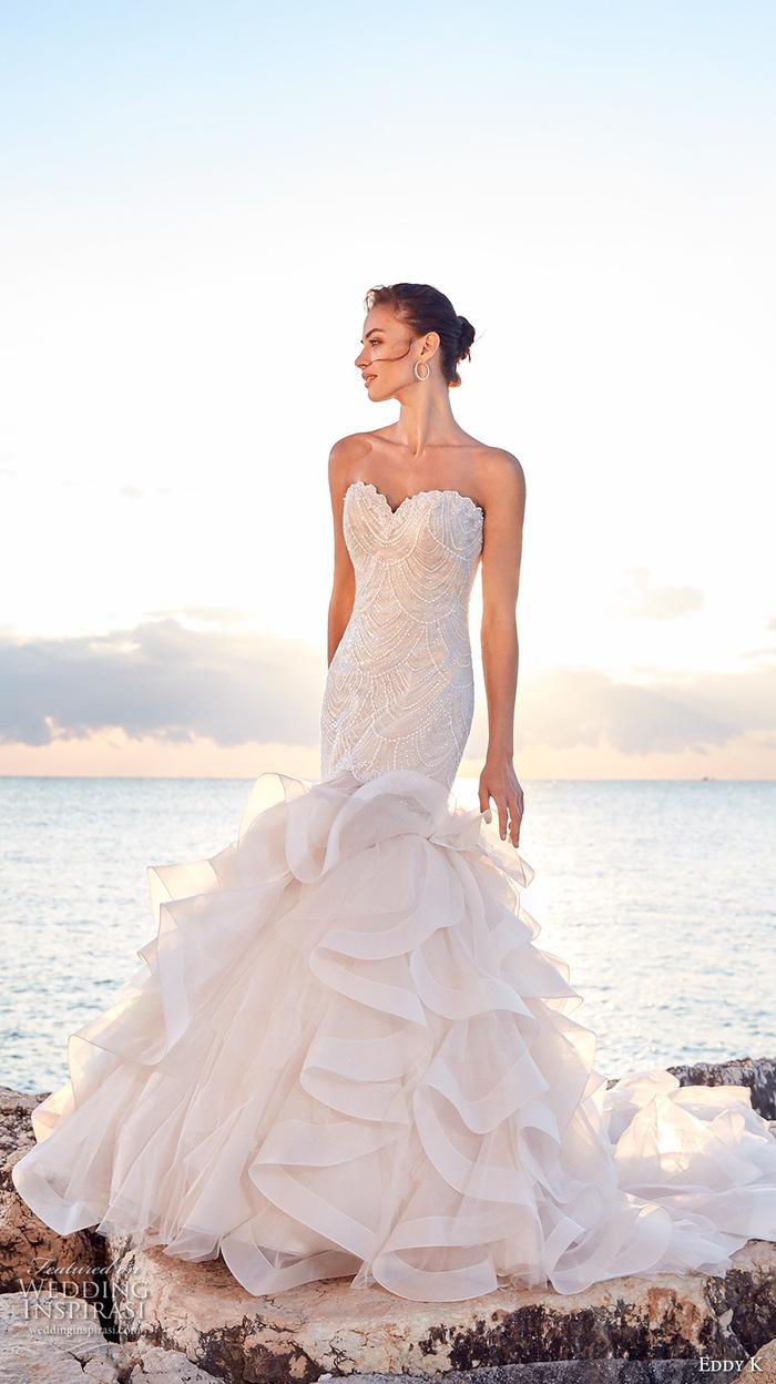 vestidos corte sirena novia bonitos y originales, los diseños más preciosos de vestidos novia princesa, fotos para descargar gratis