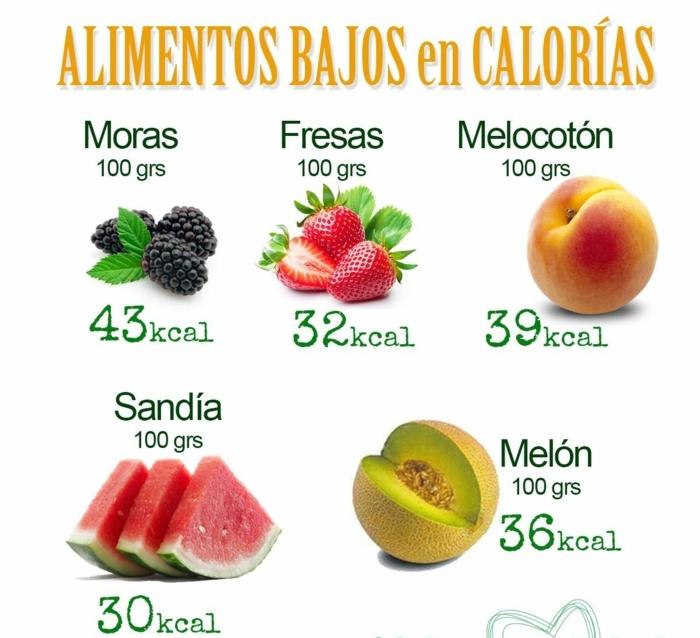 las mejores propuestas de postres para adelgazar, alimentos bajos en calorias, frutas bajas en calorías para el verano