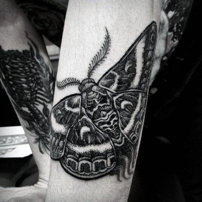 los diseños mas originales de tatuajes de animales, tatttoos con insectos en estilo realista, tatuajes de animales con significado