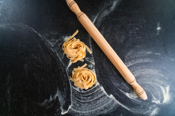 pasta tagliatelle casera paso a paso, recetas bajas en calorias chulas, fotos de recetas originales y faciles de hacer en casa