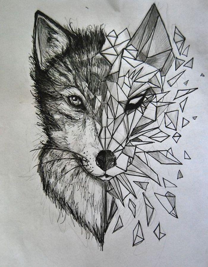 los mejores ejemplos de tatuajes geométricos, diseños de tatuajes originales que inspiran, dibujos para tatuajes bonitos