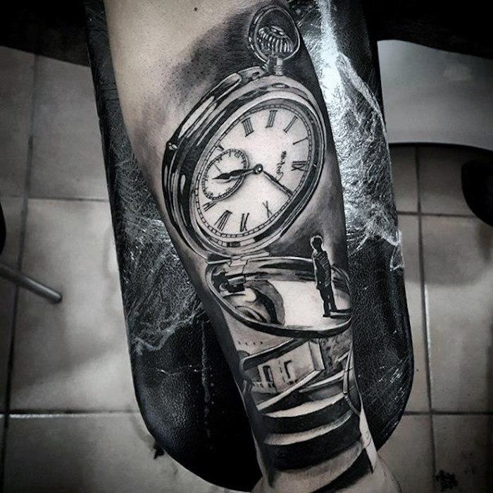 precioso tattoos con significado simbolico, tatuaje pequeño niño reloj, tatuajes antebrazo hombre, los mejores ejemplos de tattoos grandes