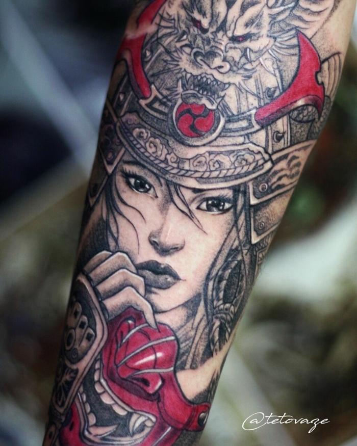 tatuaje antebrazo entero, diseños de tattoos simbólicos, las mejores ideas de tatuajes antebrazo hombre en estilo old school