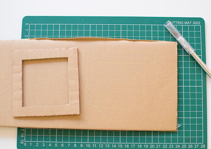 ideas para hacer un marco de cartulina hecho a mano, manualidades faciles para niños divertidos, ideas de pequeocio