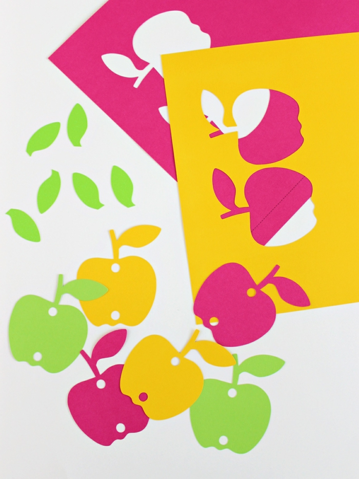 ejemplos de manualidades de papel en colores llamativos, regalos para profesoras bonitos y fáciles de hacer para niños