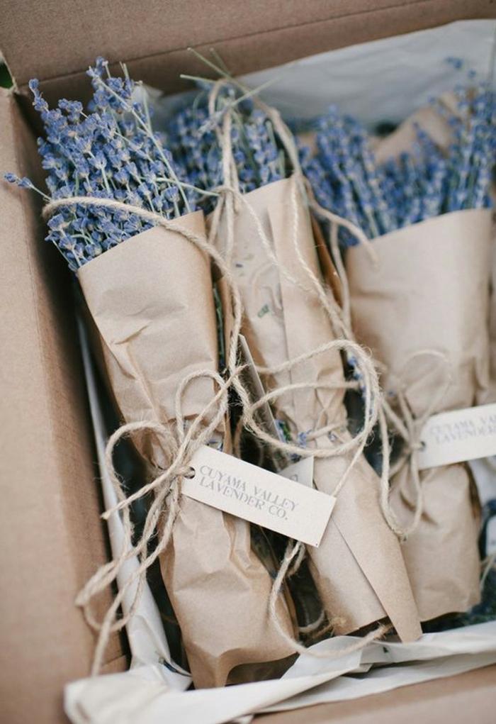 flores secas y especias para regalar a tus invitados de boda, originales ideas de detalles de boda para mujeres, detalles para regalar
