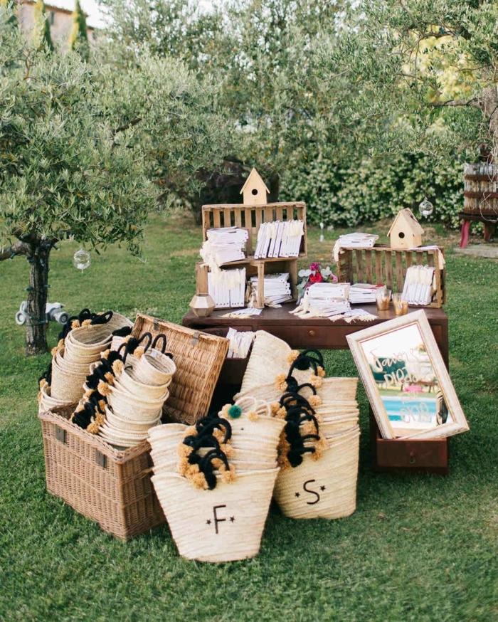 originales ideas de detalles de boda rústicos para sorprender a tus invitados, propuestas únicas de regalos para bodas