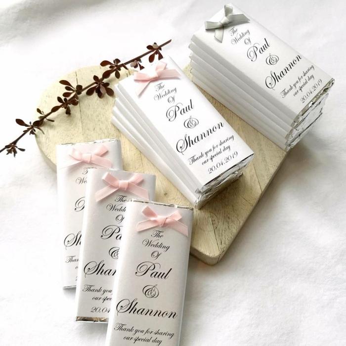 bloques de chocolate personalizados con letras, detalles de boda para hombres y mujeres, ideas de detalles para invitados