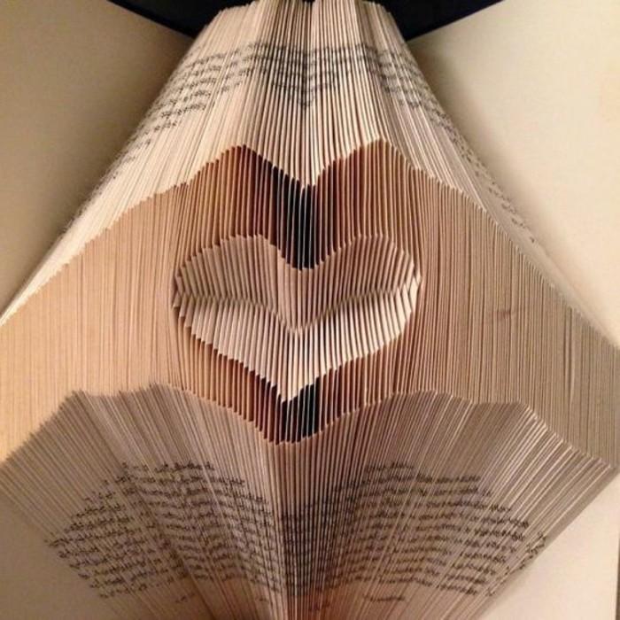 plegados de libros que enamoran, más de 85 fotos de manualidades de papel originales para sorprender a tu pareja