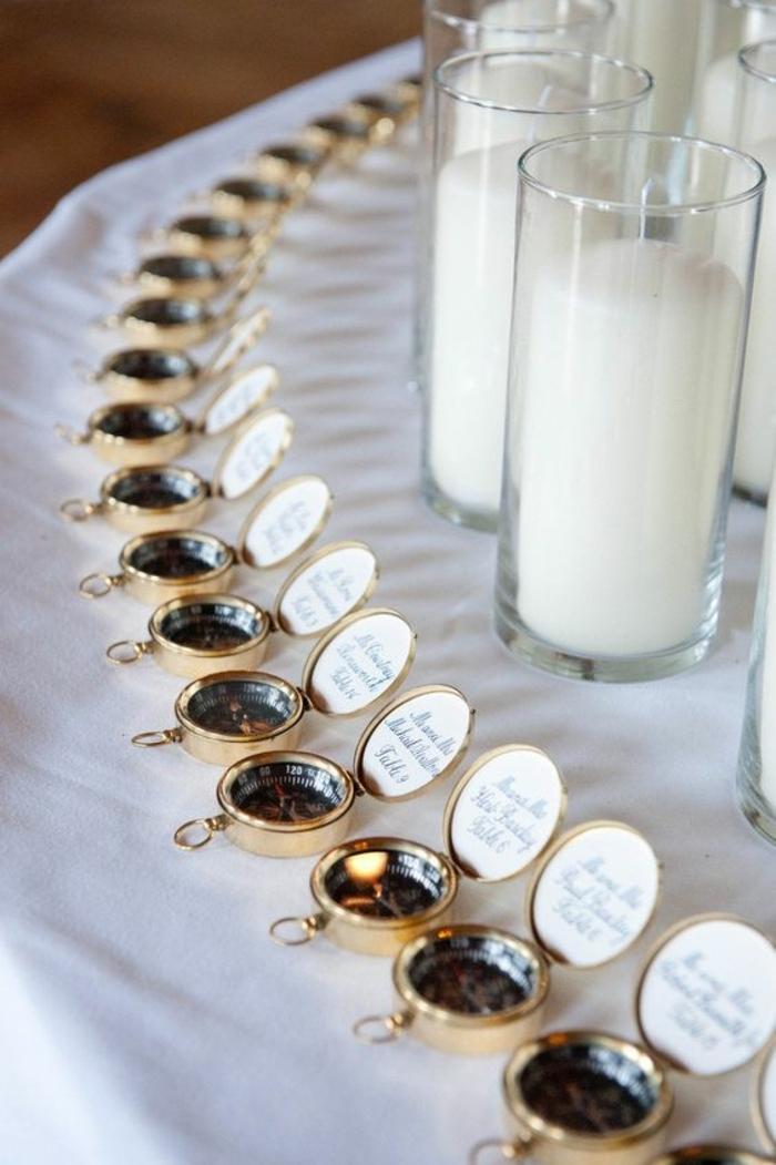 bonitas ideas de detalles de boda para hombres y mujeres, regalos especiales para bodas temáticas, compases para regalar