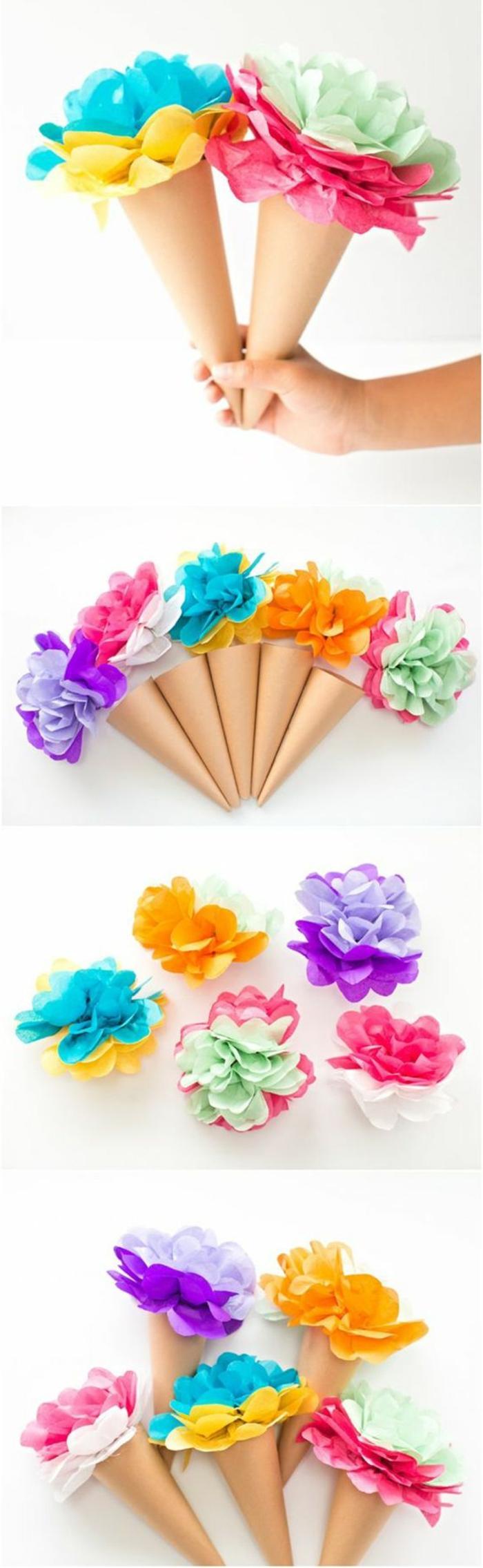 helados DIY para el verano con flores artificiales, originales ideas de proyectos DIY para decorar la casa, manualdiades desde casa