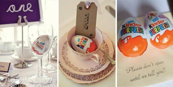 regalos sorpresa con huevos de chocolate Kinder, ideas super originales para sorprender a tus invitados, regalos paso a paso