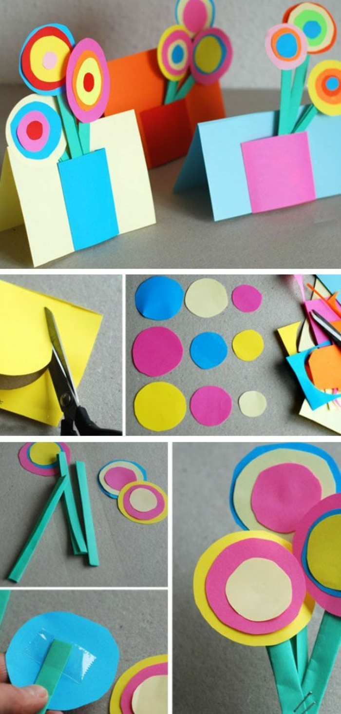 ejemplos de manualidades faciles para hacer en casa para niños y adultos, manualidades con papel super originales