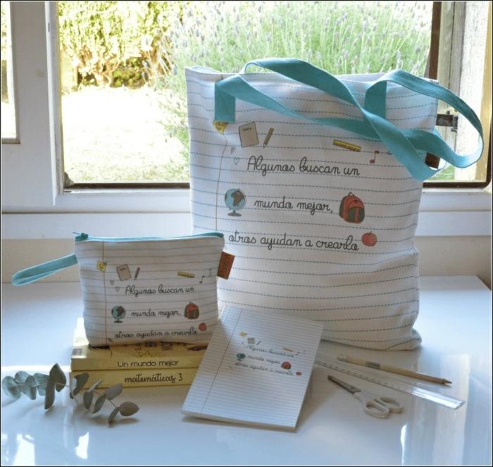 ejemplos de regalos profesoras infantil, 90 fotos de regalos personalizados, bolso y monedero cuaderno, regalos divertidos
