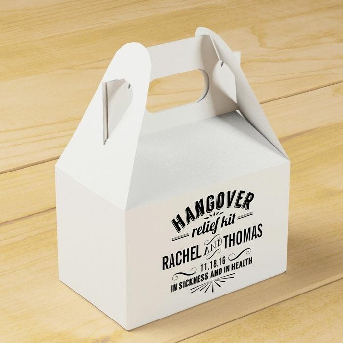 Kit para resaca para regalar a tus invitados, detalles de boda originales para invitados, comidas y bebidas para quitar la resaca