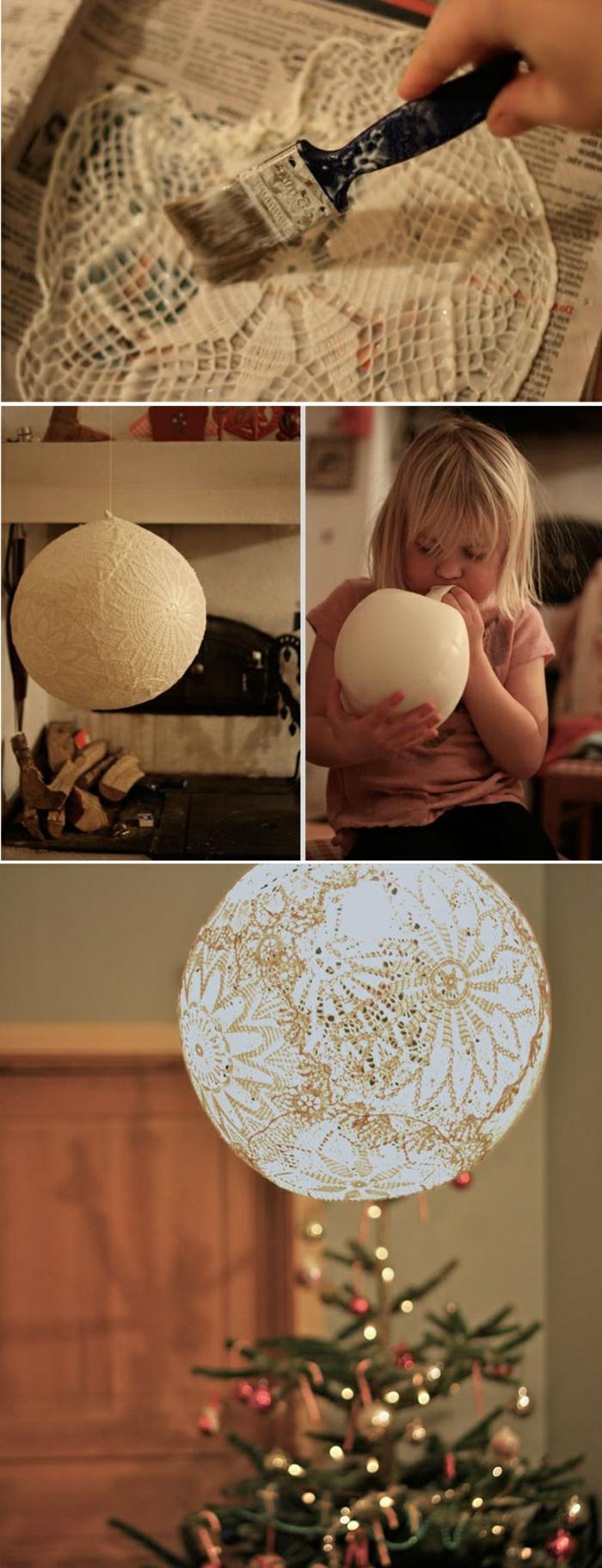 originales ideas de talleres para niños, lámparas DIY hechas de materiales de reciclaje, ideas para decorar la casa