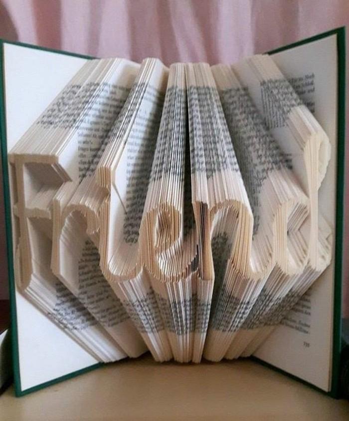 amigo escrito en un libro pop up, libro pop up original, las mejores ideas sobre regalos decorativos simbolicos