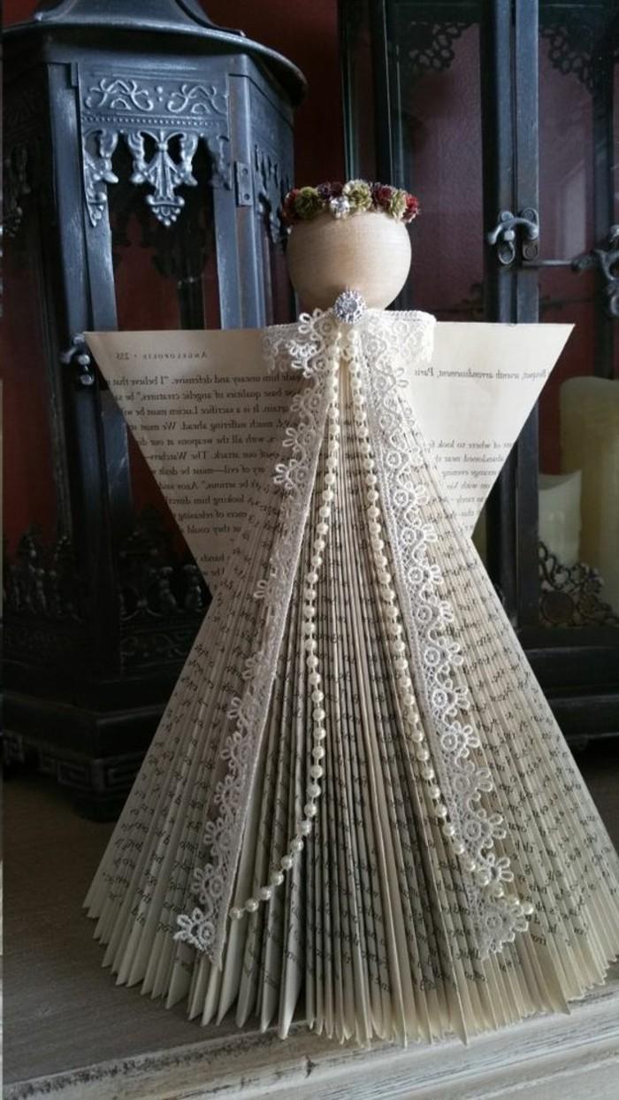 precioso detalle hecho a mano, pequeños detalles DIY para decorar la casa en Navidad, ideas de manualidades de Navidad