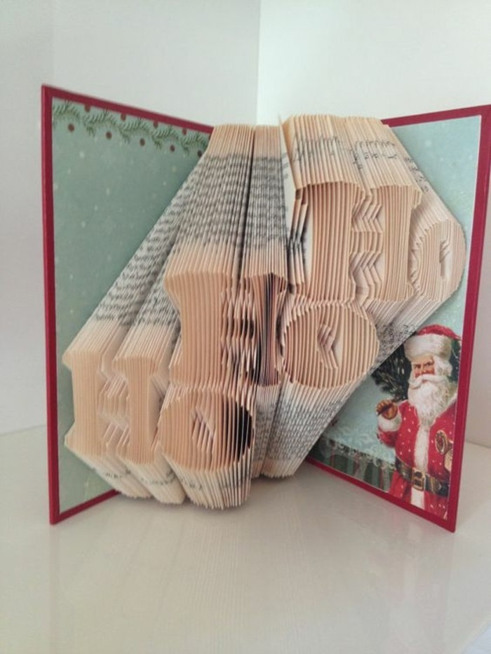 libro pop up para Navidad, ideas sobre cómo hacer manualidades de navidad unicas, ejemplos de origami