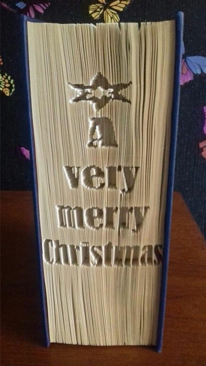 ideas de regalos de navidad originales, regalar libro en Navidad, libro pop up, ideas de manualidades de navidad