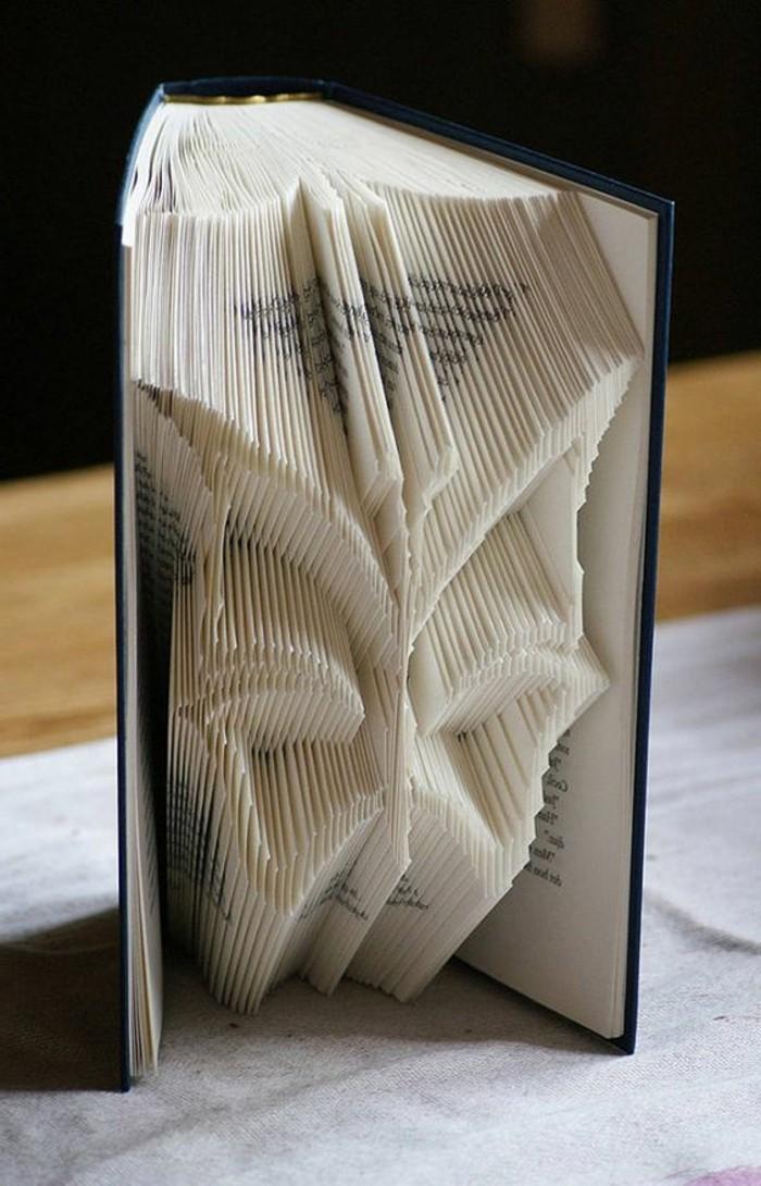mariposa de papel DIY, las mejores ideas de arte con plegado de libro, como hacer flores y animales de papel